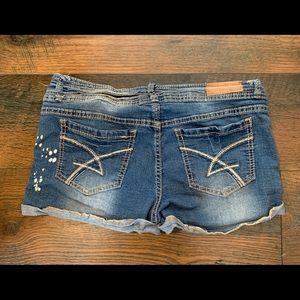 Amethyst Size 11 Jean Shorts